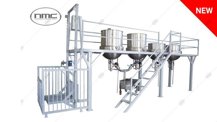 دستگاه سکوی پخت مدل KPT 1750 , تجهیزات پخت و همزن