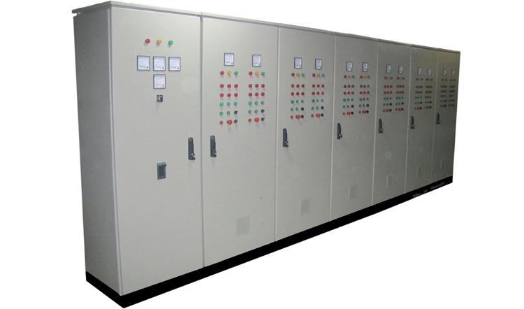 تابلو برق بچینگ با سیستم PLC , تابلو برق های صنعتی
