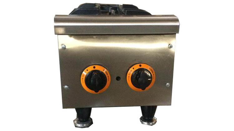 اجاق گاز 2 شعله رومیزی مدل COO2 , تجهیزات آشپزخانه صنعتی