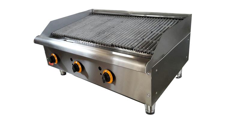 دستگاه گریل ذغالی 90 سانتی مدل GL90 , دستگاه کباب پز