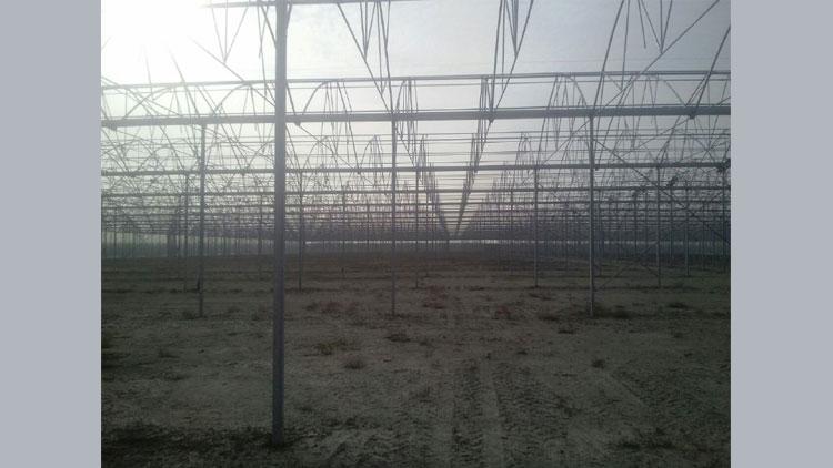 سازه گلخانه مدل 9600 , سازه های گلخانه ای