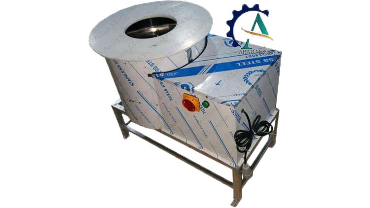 دستگاه آبگیر و روغن گیر سانتریفیوژ 1،5 اسب , ماشین آلات عمل آوری مواد غذایی