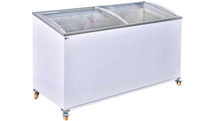 فریزر صندوقی 500 لیتری , یخچال صنعتی