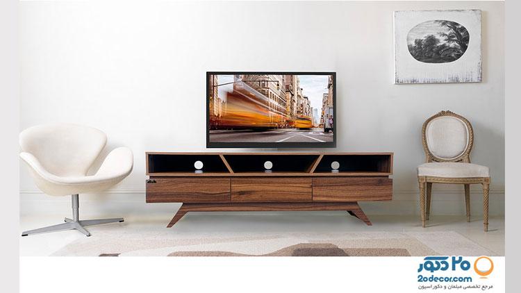 میز تلویزیون کرال استند مدل MW-140