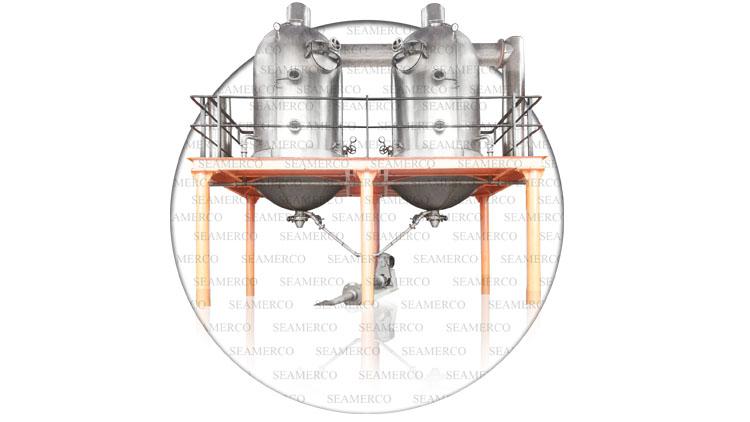 دستگاه تغلیظ کننده آب گوجه فرنگی ( بچ )