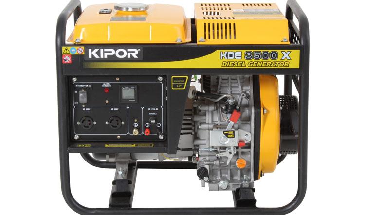 موتور برق گازوئیلی 3 کیلو وات کیپور هندلی