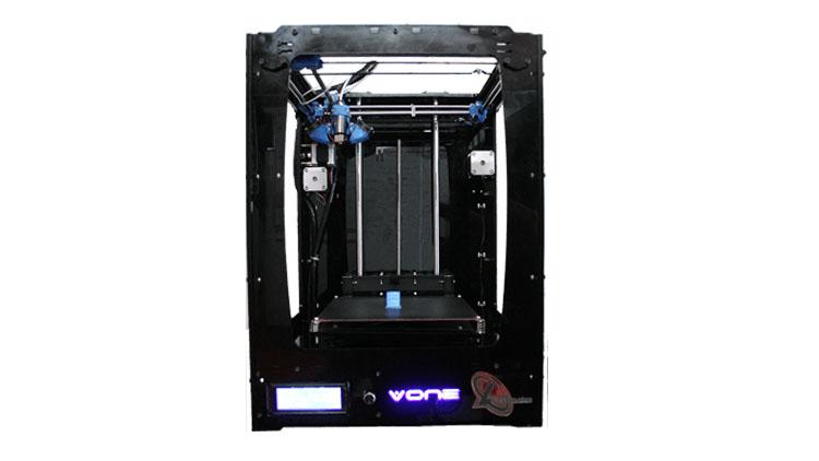 پرینتر سه بعدی مدل V ONE , پرینتر سه بعدی