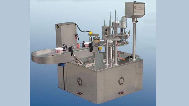 دستگاه پرکن روتاری RF1N , دستگاه پرکن مایعات روتاری