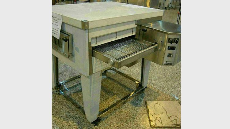 فر پیتزا ریلی طرح LINCOLN مدل ۲ ردیفه , تجهیزات رستوران و فست فود