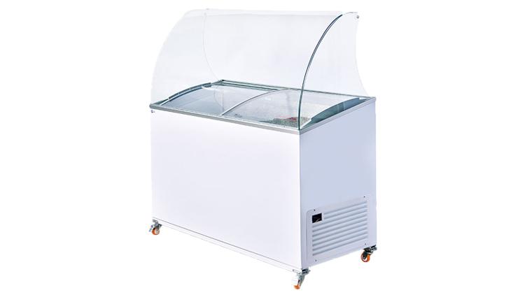 فریزر صندوقی 400 لیتری تاپینگ , یخچال صنعتی