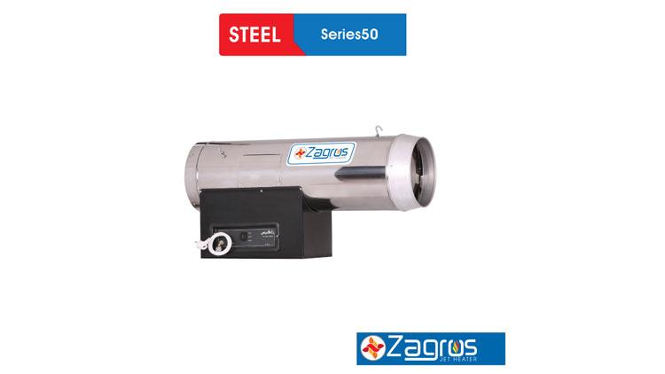 جت هیتر سری ۵۰ گازسوز و گازوئیل سوز , سیستم گرمایشی گلخانه