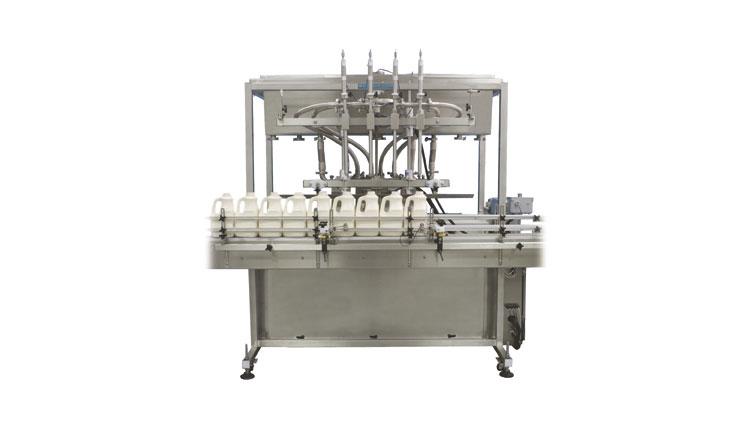 دستگاه پرکن مایعات ثقلی تمام اتوماتیک