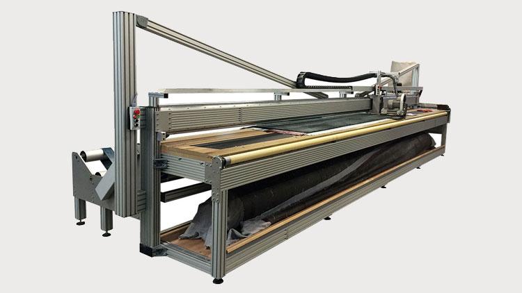 دستگاه نیمهاتوماتیک پرداخت سطحی فرش EFAB GmbH , دستگاه پرداخت فرش