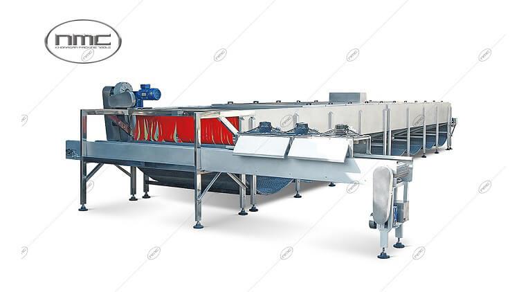 دستگاه تونل پاستوریزاتور دوشی یا اتوکلاو عبوری مدل KPT 3000