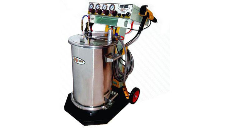 دستگاه پاشش پودری ELCOAT سری زیگما پلاس , تجهیزات رنگ و ریزین