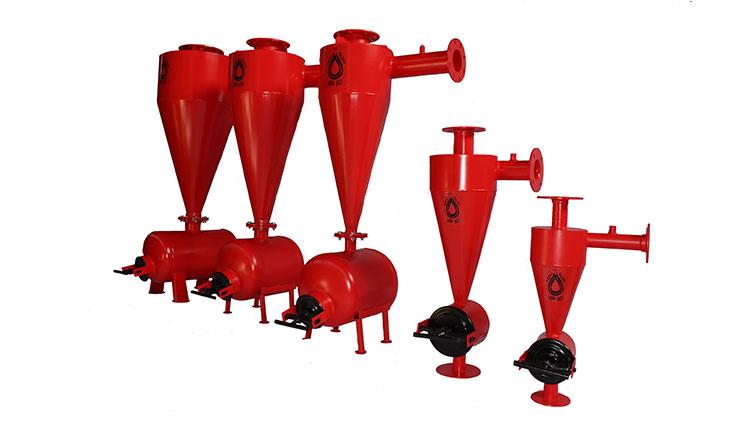 هیدروسیکلون 12 اینچ , سیستم آبیاری