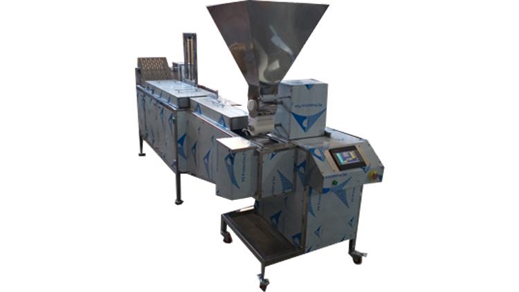دستگاه فلافل زن ریلی 1000 تایی , ماشین آلات عمل آوری مواد غذایی