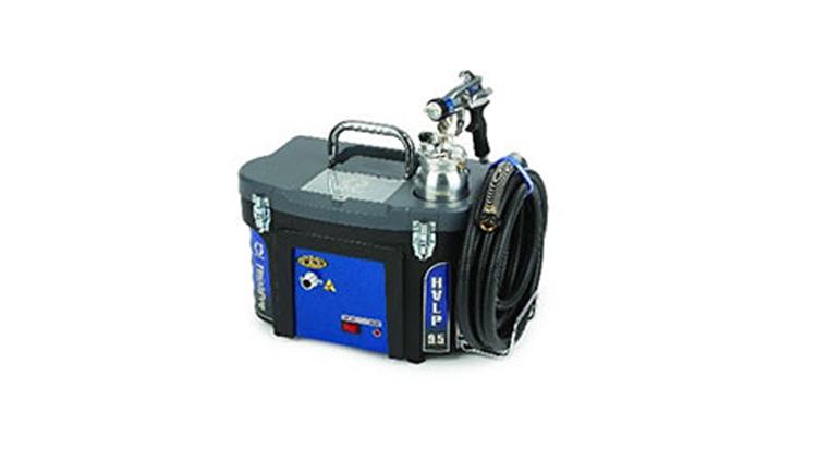 دستگاه ایرلس برقی مدل HVLP , صنایع رنگ و رزین