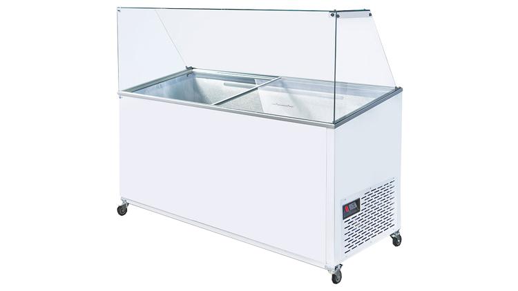 فریزر صندوقی 800 لیتری تاپینگ , یخچال صنعتی