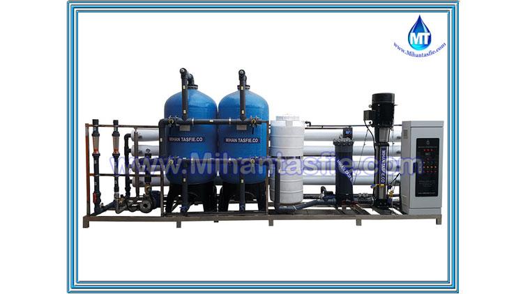 دستگاه آب شیرین کن صنعتی ظرفیت 500 متر مکعب , تجهیزات ضدعفونی و تصفیه آب صنعتی
