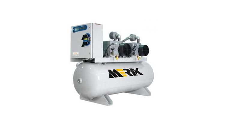 دستگاه ساکشن مرکزی مدل M-CS-100H-25V طرح تک پمپ
