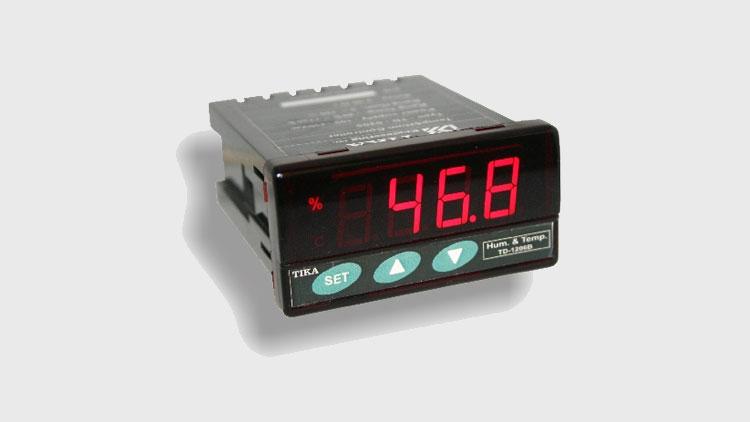 نمایشگر و کنترلر رطوبت و دما TD-1200 , دستگاه کنترل دما و رطوبت گلخانه