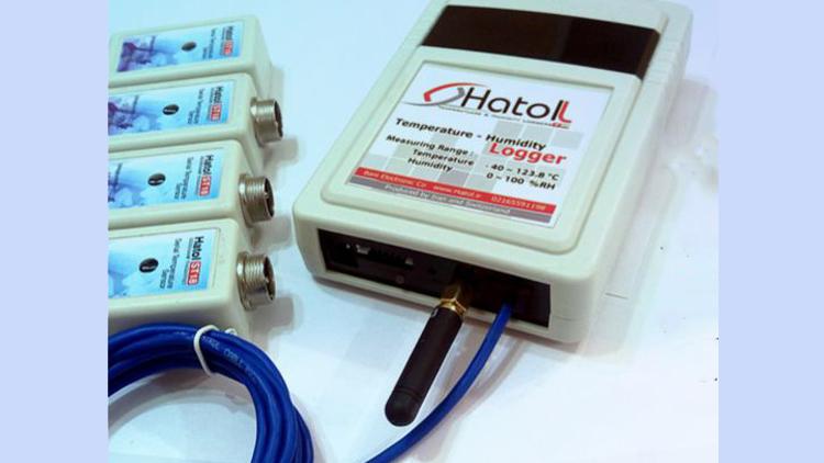 دیتالاگر دما چهار کاناله آنلاین هاتول مدل 4060   , دستگاه کنترل دما و رطوبت گلخانه