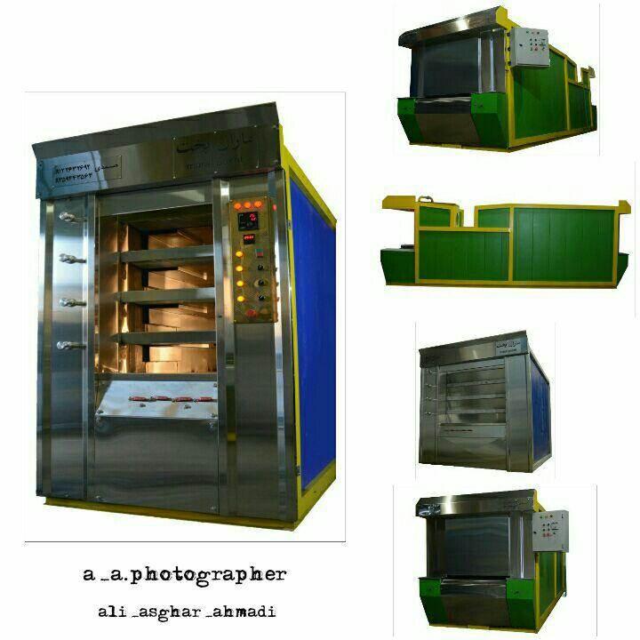 دستگاه پخت نان تونلی بخار پز