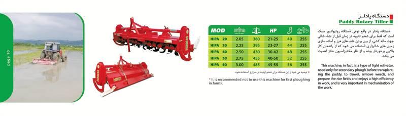 پادلر مدل HIPA30