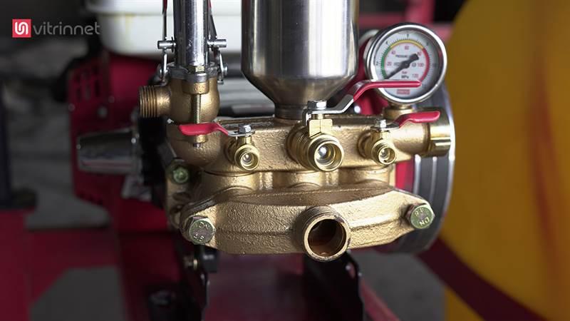 سمپاش زنبه ای با موتور کاوازاکی و پمپ پیستونی 45 مدل 16696
