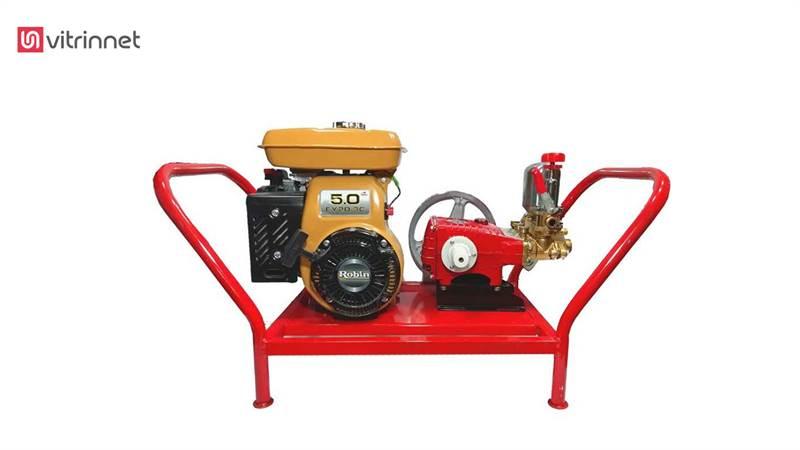 سمپاش زنبه ای با موتور روبین چین و پمپ پیستونی 45 مدل 16698
