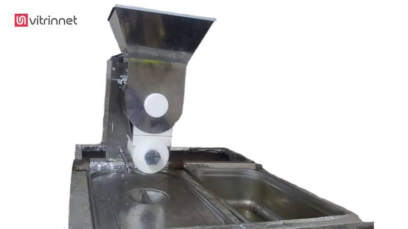 دستگاه فلافل رومیزی زن استیل