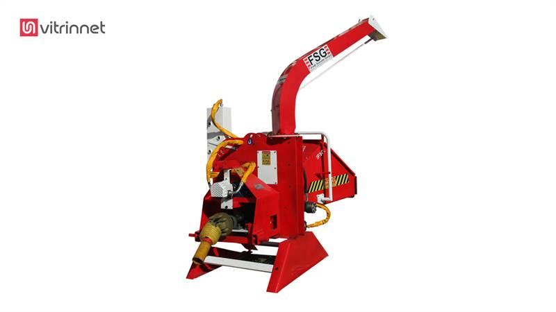 دستگاه چوب خرد کن هیدرولیکی مدل tp760