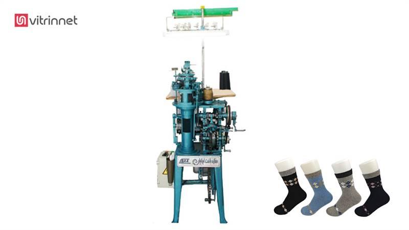 دستگاه جوراب بافی اتوماتیک