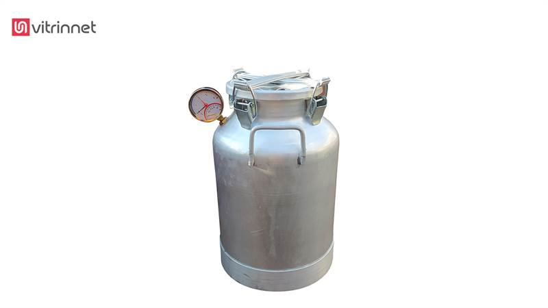 دستگاه تقطیر و دستگاه عرق گیری 30 لیتری با کندانسور برقی و دیمر و ترمومانومتر