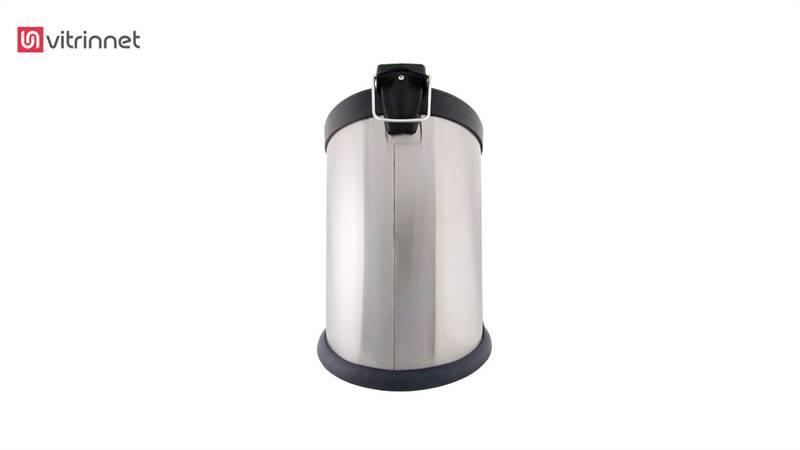 سطل زباله استیل پدال دار ۲۰ لیتری مدل ۱-۶۱۱
