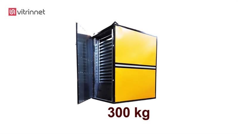 دستگاه خشک کن میوه و سبزیجات 300 کیلویی