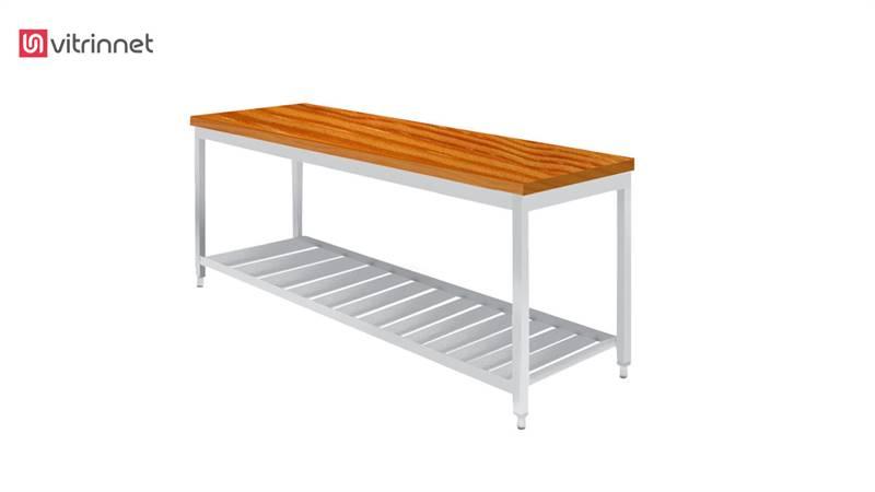 میز کار 150 سانتی با صفحه چوب