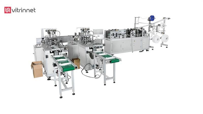دستگاه تولید ماسک فول آپشن سه تا شش لایه مدل A103-3L