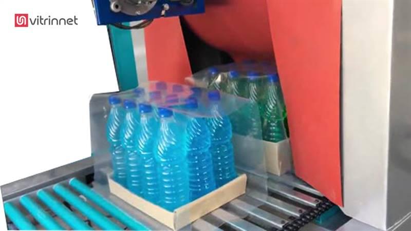 دستگاه شیرینگ پک دوگانه سوز اتومات