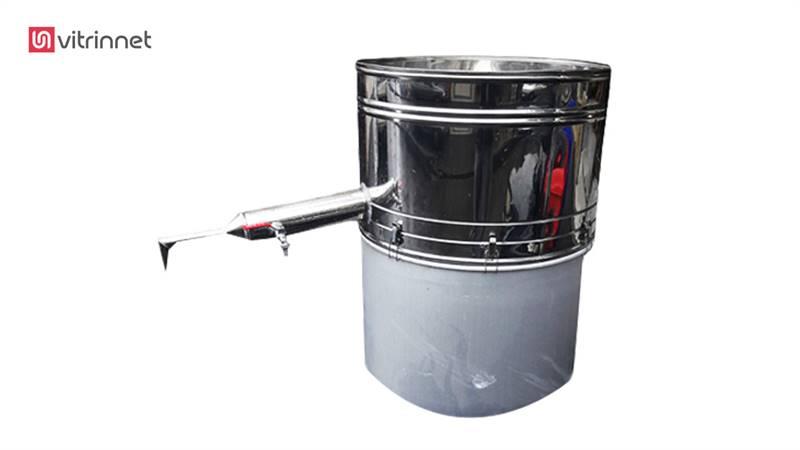 دستگاه عرق گیری لوله بلند دو جداره 10 لیتری