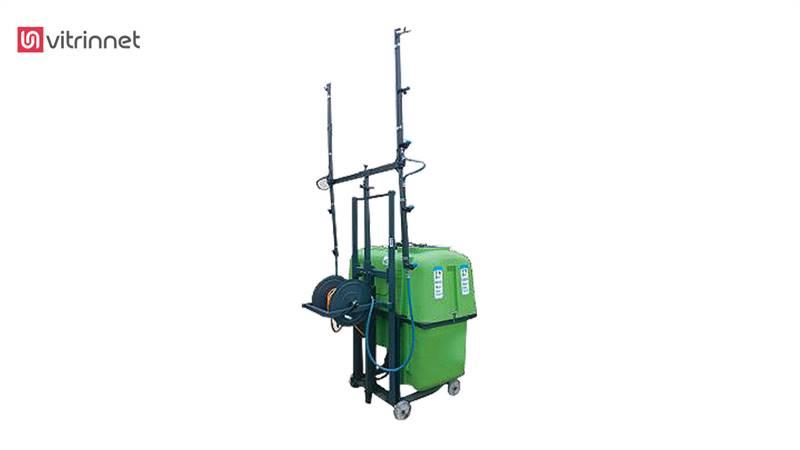 سمپاش 600 لیتری بومدار باغی تا ارتفاع 7 متر
