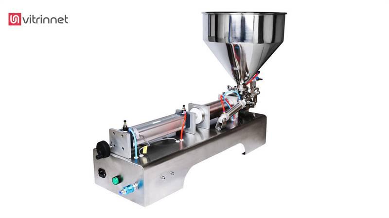 دستگاه پرکن پنوماتیک روغن 100 تا 1000