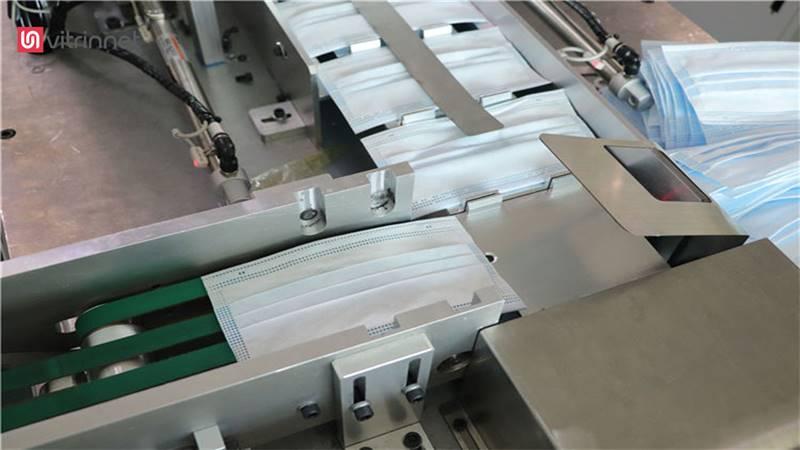 خط تولید ماسک پزشکی سه تا شش لایه و فیلتردار مدل نیمه اتومات
