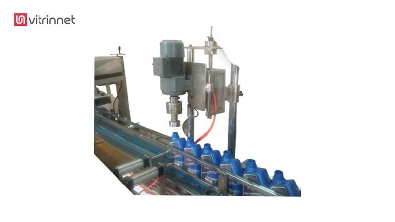 دستگاه پرکن مایع اتوماتیک 4نازل