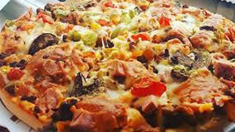 فر پیتزا گازی دو طبقه استار