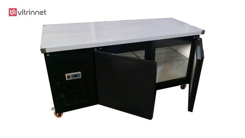 یخچال روی میز کار بدنه رنگی 120