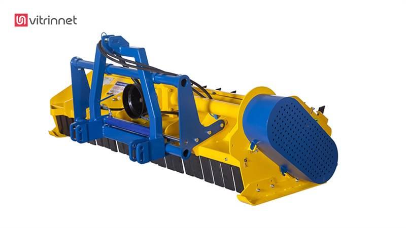 سرشاخه خردکن پشت تراکتوری عرض کار LEOPAR 9200