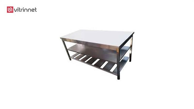 میز کار 100 پایه تفلون با کفی