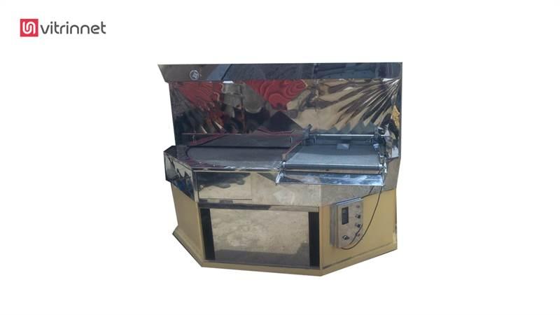 دستگاه فر پرتابل 2 متری مخصوص لواش همراه با دستگاه ناندار